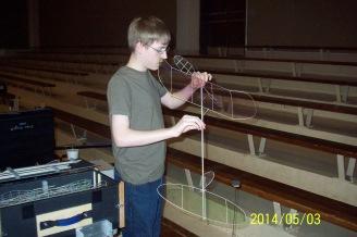 Evan Guyet Prepares an F1D