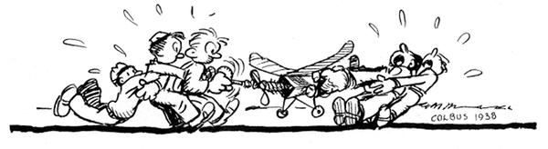 Cartoon winding rubber Colbus '38-600