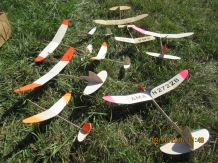 Collection of handcrafted Gliders