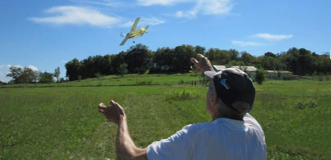Perfect wind conditions at the September 18th, 2016 HAFFA Picnic