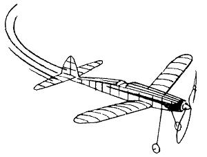 small indoor plane 300
