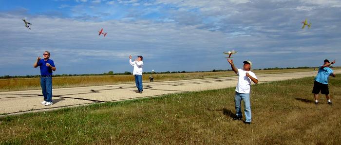 Fall 2017 Marion Ks Haffa Free Flight Contest Heart Of America