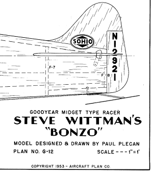 bonzo tail drawing 300