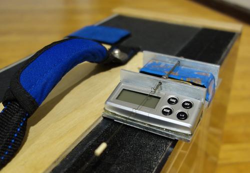 Evan Guyett's torque gauge
