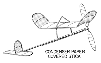 condenser paper covered stick 350