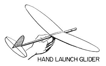 hand launch glider 350