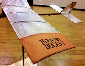 Humphrey Bogart P-18 rudder and wing tip
