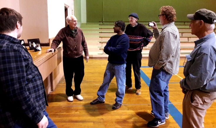Left to right Paul Morgenroth, III, Emil Schutzel, Suman Saripalli, Jack Vetter, Jeff Renz, and Gary Hodson