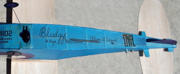 DT system from below original - Jeff Nisley's Bostonian Bludgy by Ed Lidgard
