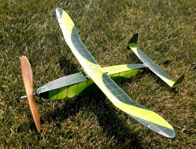 Grass landing site - Jeff Nisley's Half-size Kansas Wakefield