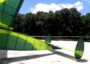 Rear side view - Jeff Nisley's Half-size Kansas Wakefield