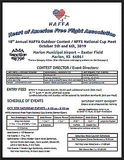 2019 HAFFA Marion Contest Flyer thumb