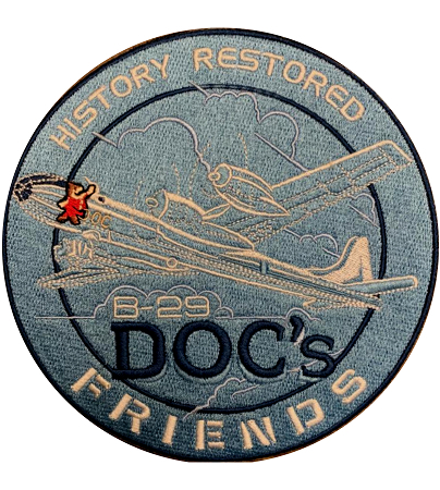 Boeing B-29 Superfortress Bombardier Jacket Patch