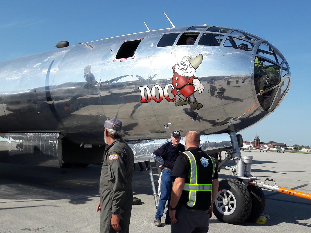 Doc B-29 Close-up