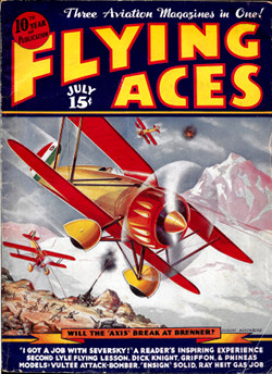 July 1938 Flying Aces Cover thumb