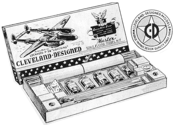 1940s Model Aairplane Kit 600