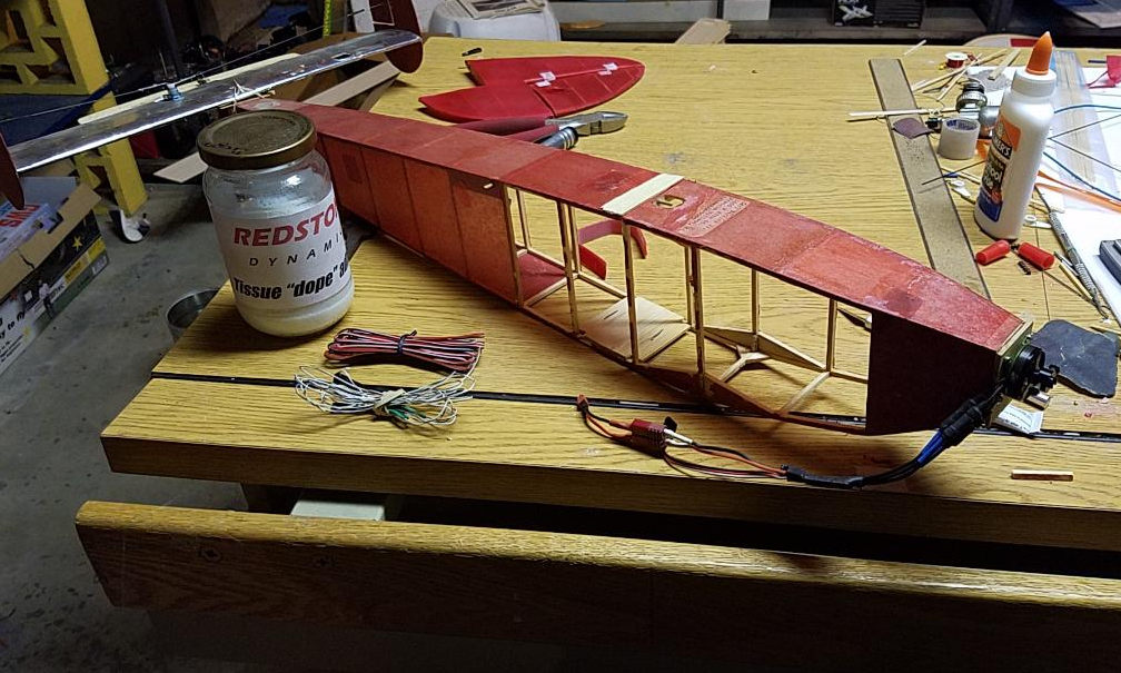 Initial electrical and control surfaces work performed by Suman Sarapalli. Note that the twin fins for this model now require them to be cut down the middle to   accomodaate a hinge in middle. In most cases it's easier to make new.